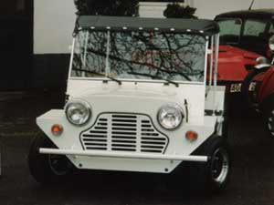 Mini Moke, das Fun - Car auf Mini Basis